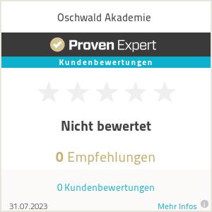 Erfahrungen & Bewertungen zu Oschwald Akademie