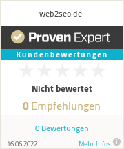Erfahrungen & Bewertungen zu web2seo.de