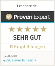 Erfahrungen & Bewertungen zu Lessence.de