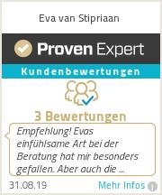 Erfahrungen & Bewertungen zu Eva van Stipriaan