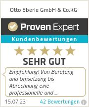 Erfahrungen & Bewertungen zu Otto Eberle GmbH & Co.KG