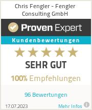 Erfahrungen & Bewertungen zu Chris Fengler - Fengler Consulting GmbH