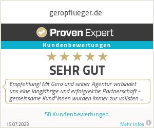 Erfahrungen & Bewertungen zu geropflueger.de