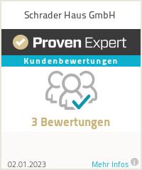 Erfahrungen & Bewertungen zu Schrader Haus GmbH