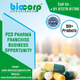 Hand Sanitizer for PCD Pharma Franchise Company - Biocorp Life Sciences