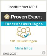 Erfahrungen & Bewertungen zu Institut fuer MPU