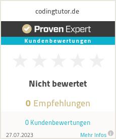 Erfahrungen & Bewertungen zu codingtutor.de
