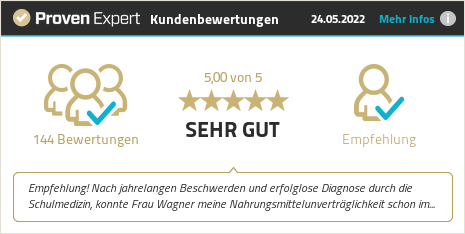 Erfahrungen & Bewertungen zu Ernährungstherapie Wagner anzeigen