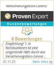 Erfahrungen & Bewertungen zu Versicherungsbüro Lorenz