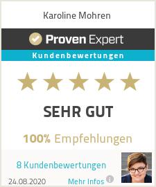 Erfahrungen & Bewertungen zu Karoline Mohren