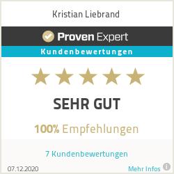 Erfahrungen & Bewertungen zu Kristian Liebrand