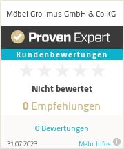 Erfahrungen & Bewertungen zu Möbel Grollmus GmbH & Co KG
