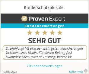 Erfahrungen & Bewertungen zu Kinderschutzplus.de