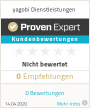 Erfahrungen & Bewertungen zu yagobi Dienstleistungen