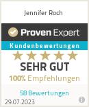 Erfahrungen & Bewertungen zu Jennifer Roch