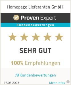Erfahrungen & Bewertungen zu Homepage Lieferanten UG