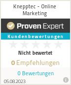 Erfahrungen & Bewertungen zu Knepptec - Online Marketing