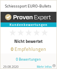 Erfahrungen & Bewertungen zu Schiesssport EURO-Bullets