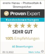 Erfahrungen & Bewertungen zu enerix Hanau - Photovoltaik & Stromspeicher