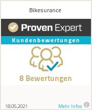 Erfahrungen & Bewertungen zu Bikesurance