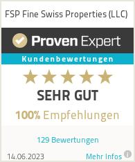 Erfahrungen & Bewertungen zu FSP Fine Swiss Properties (LLC)
