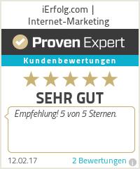 Erfahrungen & Bewertungen zu iErfolg.com   Internet-Marketing