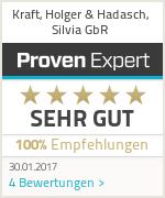 Erfahrungen & Bewertungen zu Kraft, Holger & Hadasch, Silvia GbR