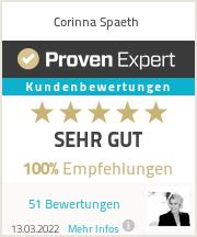 Erfahrungen & Bewertungen zu Corinna Spaeth