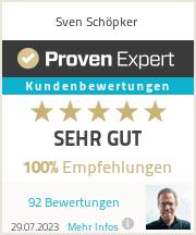 Erfahrungen & Bewertungen zu Sven Schöpker