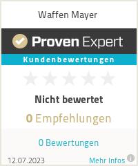 Erfahrungen & Bewertungen zu Waffen Mayer