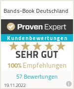Erfahrungen & Bewertungen zu Bands-Book Deutschland