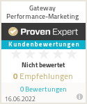 Erfahrungen & Bewertungen zu Gateway Performance-Marketing