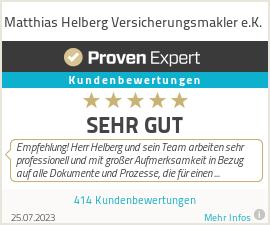 Erfahrungen & Bewertungen zu Matthias Helberg Versicherungsmakler e.K.