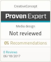 ProvenExpert-Profil von CreativeConcept anzeigen