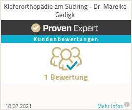 Erfahrungen & Bewertungen zu Kieferorthopädie am Südring - Dr. Mareike Gedigk