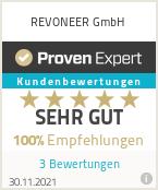Erfahrungen & Bewertungen zu REVONEER GmbH