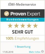 Erfahrungen & Bewertungen zu JÖWI-Medienservice