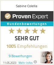 Erfahrungen & Bewertungen zu Sabine Colella