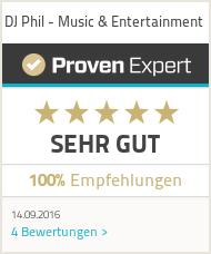 Erfahrungen & Bewertungen zu DJ Phil - Music & Entertainment