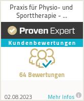 Erfahrungen & Bewertungen zu Praxis für Physio- und Sporttherapie - Physioproaktiv Mitte GmbH