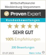 Erfahrungen & Bewertungen zu Wirtschaftskanzlei Mecklenburg-Vorpommern