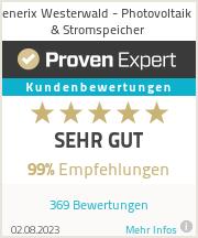 Erfahrungen & Bewertungen zu enerix Westerwald - Photovoltaik & Stromspeicher