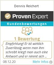 Erfahrungen & Bewertungen zu Dennis Reichert