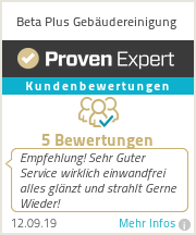 Erfahrungen & Bewertungen zu Beta Plus Gebäudereinigung