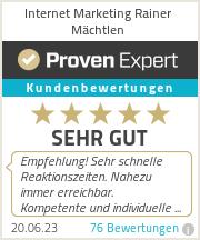 Erfahrungen & Bewertungen zu Internet Marketing Rainer Mächtlen