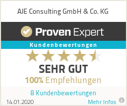 Erfahrungen & Bewertungen zu AJE Consulting GmbH & Co. KG