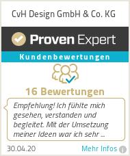 Erfahrungen & Bewertungen zu CvH Design GmbH & Co. KG