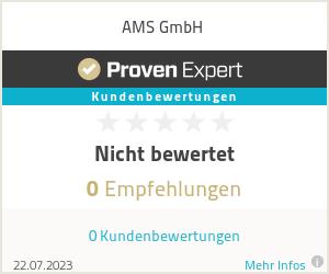 Erfahrungen & Bewertungen zu AMS GmbH