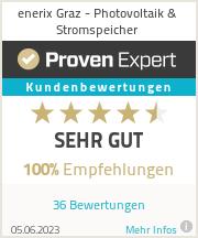 Erfahrungen & Bewertungen zu enerix Graz - Photovoltaik & Stromspeicher