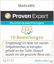 Erfahrungen & Bewertungen zu Medicallife